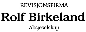 Revisjonsfirma Rolf Birkeland AS